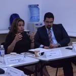 Simón Hernández Defensor de Derechos Humanos, Olivia Veiga de la UNAM y Adalberto Méndez de la CNDH