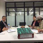 Reunión de CULTURADH y SEGOB para la segunda parte del proyecto: La Reforma Constitucional en Materia de Derechos Humanos