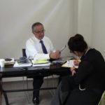 Reunión de la Presidenta de CULTURADH Rosy Laura Castellanos Mariano con el Mtro. Alfredo Álvarez Cárdenas, Director General del Instituto de Estudios Judiciales.